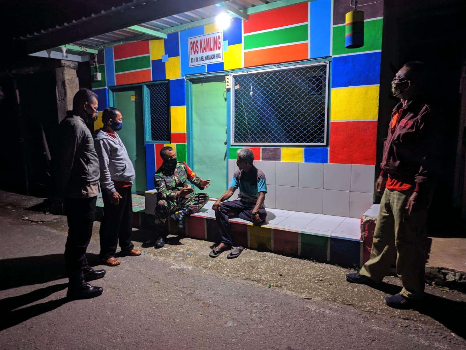 Kegiatan Patroli 3 Pilar Kelurahan Nambangan Kidul.